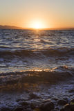 Sunset at sea Royalty Free Stock Photography