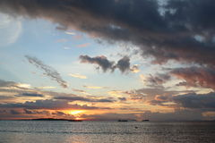 Sunset sea Royalty Free Stock Images