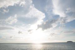 Sunset on the sea Stock Image