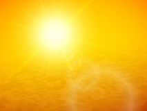 ОРАНЖЕВЫЙ ФОН Sunset-sea-horizon-summer-sun-desert-blue-ocean-clear-sky-vector-background-illustration-44544649