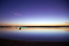 Sunset Sea Reflection Royalty Free Stock Image