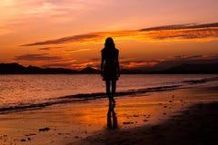 Sunset, Sea, Sky, Sunrise royalty free stock image