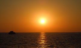 Sunset at Sea Stock Photos
