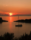 Sunset seascape Stock Photo