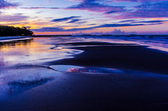 Sunset Seascape Royalty Free Stock Photo