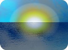 Sunset Seascape Stock Photography
