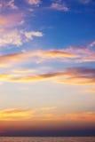 Sunset. Seascape. Stock Photography