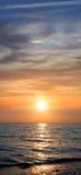 Sunset. Seascape. Stock Photo
