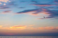 Sunset. Seascape. Stock Image
