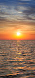 Sunset. Seascape. Stock Photos