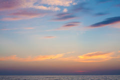 Sunset. Seascape. Royalty Free Stock Photos