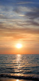 Sunset. Seascape. Royalty Free Stock Images
