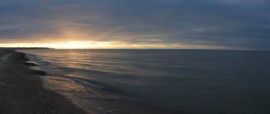 Sunset seascape Royalty Free Stock Photography