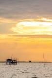 Sunset seascape, Samed island Stock Photos