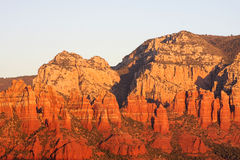 Sunset in Sedona Arizona Stock Photography