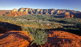 Sunset in Sedona Royalty Free Stock Photography