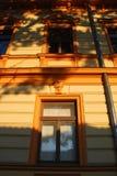 Sunset window Stock Image