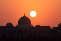 Sunset in Sharjah Stock Photos