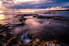 Sunset at Shark's Cove Beach Stock Photos