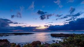 Sunset at Shark's Cove Beach Stock Photo