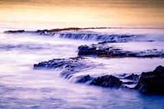 Sunset at Shark's Cove Beach Royalty Free Stock Photos