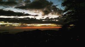Sunset. Shimala sunset sun clouds weather Stock Photo