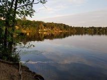 Sunset Shoreline royalty free stock images