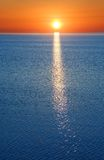 Sunset in Siberia Stock Photography