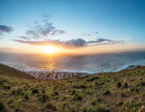Sunset on signal hill cape town Stock Image