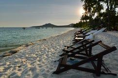 Sunset at Sivalai beach. Koh Mook. Thailand Stock Photo