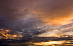 Sunset, Sky Stock Images