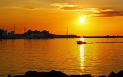 Sunset, Sky, Afterglow, Horizon royalty free stock image