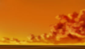 Sunset sky background Stock Image