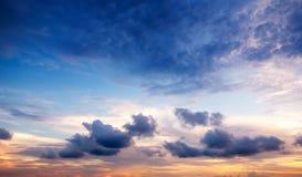 Sunset Sky Background Royalty Free Stock Image
