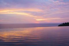 Sunset sky background. stock photography
