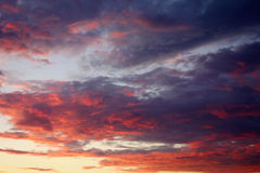 Sunset Sky Background Stock Image