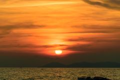 sunset sky background texture royalty free stock images