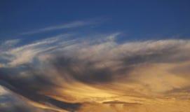 Sunset sky Royalty Free Stock Photos