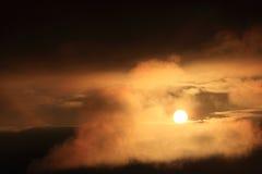 Sunset sky Royalty Free Stock Image