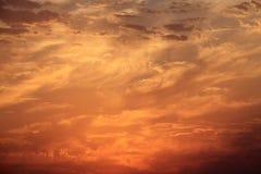 Sunset sky Royalty Free Stock Photography
