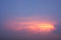 After sunset sky Stock Photo