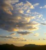 Sunset sky. Stock Photos
