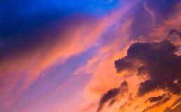 Sunset sky with cloud Royalty Free Stock Photos
