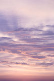 Sunset sky and cloud Stock Photo