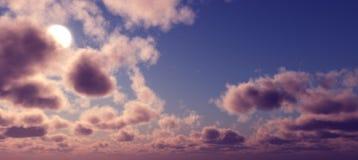 Sunset sky. Royalty Free Stock Image
