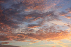 Sunset Sky Royalty Free Stock Photography