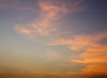 Sunset sky Stock Photo