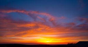 Sunset sky Royalty Free Stock Photos