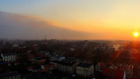 Sunset. Sky shot stock image