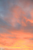 Sunset sky at summer Royalty Free Stock Photos
